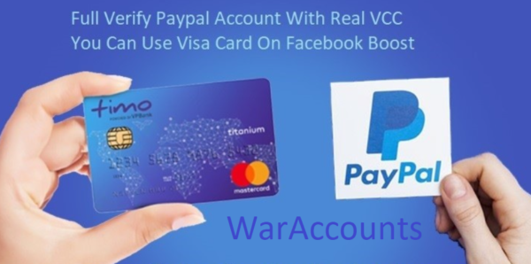 100% Verified Paypal account available 💥 💥 Personal Or Business Account 💥 🔥 Account features 🔥 ✅ USA Full Verified Account ✅ Visa Card Details ✅ Paypal To Visa Card Dollar Transfer ✅ 3 Month Dedicated IP Free ✅ SSN Details ✅ USA 1 Number Access Full Info ✅ CashApp Details ✅ USA Email Access ✅ 1$ On Your Paypal Account ✅ Video Tutorial How To Use Paypal. ✅ 48 Hour Replacement Guarantee